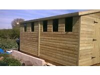 garden sheds sale now on any size or spec deliver nationwide free installation