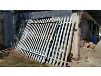Palisade security fenching and gates