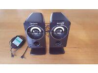 PC Speakers - Sony SRS A212 Active Speaker System 4.8 Watt (Black)