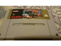snes pal game cart street fighter 2