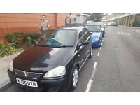Black Vauxhall Corsa 1.2 Petrol, Low Mileage grab a bargain