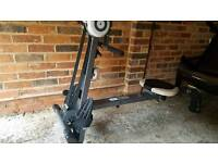 Pro Fitness Gym & Rowing Machine