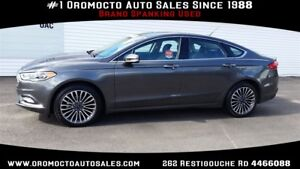 2017 Ford Fusion ALL WHEEL DRIVE,LUXURY PACKAGE,HEATED LEATHER,N