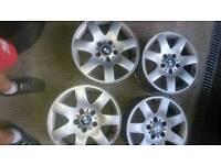 Bmw 16inch alloy wheels