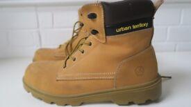 Mens steel toe cap boots {size 12} Urban Territory