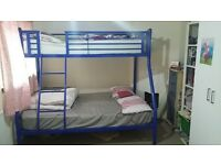 Used Bunk bed 3 Sleepers with Mattresses