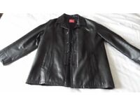 Mens Leather Jacket xxl cost £250 grab a bargain !!!!!!
