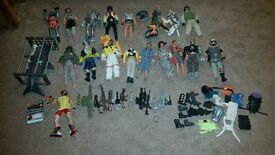 Action man bundle and lots of extras