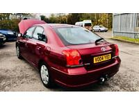 **AUTO+LOW MILES** TOYOTA AVENSIS 1.8 T2 AUTO + JUST SERVICED + 2KEYS + NO ISSUES + IMMACULATE CAR