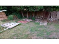 WANTED Used Fence Panels