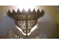 moroccan wall light