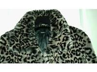 Fauxfur coat