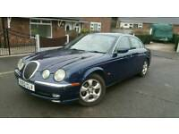 BARGAIN JAGUAR S TYPE 2.5 V6 AUTO, CREAM LEATHERS, TOW BAR, NICE CAR, LPG GAS, ALLOYS GOOD TYRES