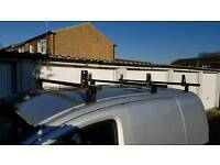 Roof rack to a fiat fiorino van and car