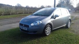 Fiat Punto 2008 MOT to June 2018 recently serviced