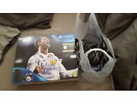 Sony Playstation PS4 - 500gb Slim with 2 games (Fifa 18 & Battlefield 1)