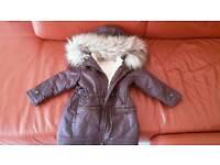 Girl's winter coat age 3