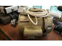 1 HP Electric Motor with Double Pulley