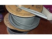 Full drum 25 meters Electric cable 16mm Blue or Brown