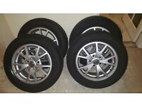 Vauxhall Insignia Alloy Wheels with Tyres (GENUINE)