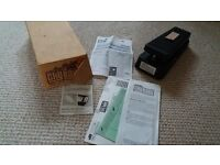 Jim Dunlop Original Cry Baby effects pedal, 1995, virtually unused, boxed with receipt. PO9 4PT