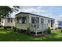8 berth 3 bed static caravan to rent in Ingoldmells Skegness