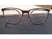 Porsche Grey Glasses Frame. NEW