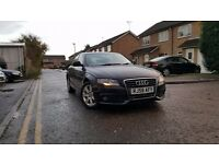 11,2008 AUDI A4 SE 2.0 TDI S SP DIESEL.6 SPEED MANUAL GEARBOX CLIMATE CONTROL