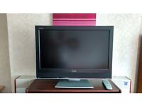"""32""""LCD HD Toshiba model 32wlt66s freeview excelent condition"""