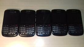 5x Blackberry Curve 8520 - Read Description