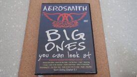 "DVD OF AEROSMITH ""THE BIG ONES"""