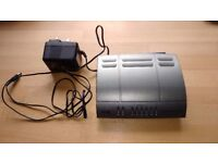 BT Voyager 2100 Wireless Router and power supply