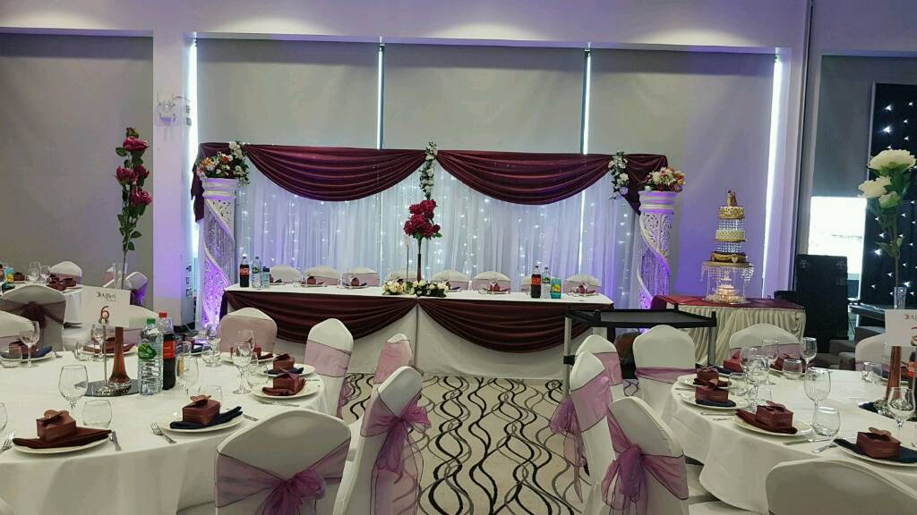 Asian Wedding Stages, Floral Stages, Chair Covers For