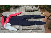 Alder 4/3 wetsuit, fleece lining MT medium tall