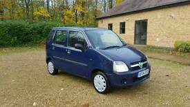 2004 04 reg Vauxhall Agila expression 1.0L