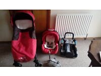 Chicco travel system and car seat base