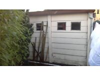 Horizontal pre fab concrete garage