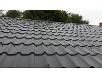 Tin Roofing Sheets Tile Effect Plastic Coated Ely Cambs Cambridgeshire