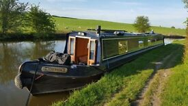 Narrow boat, 58' ideal live aboard