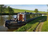 Narrow boat, 58' ideal live aboard