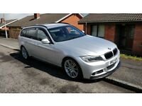 2010 BMW 3-Series 320D 181bhp M-Sport Business Edition Touring Automatic estate with FSH.