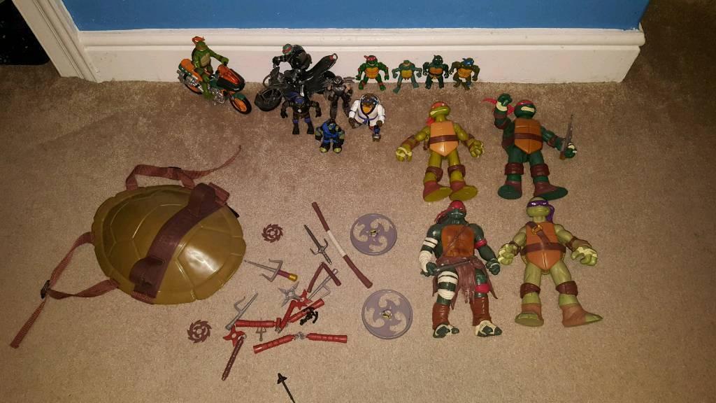 Teenage mutant ninja turtle bundle