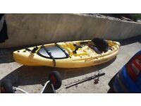 Ocean Kayak Caper single sit on fishing