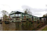 2 bedroom 6 berth statcic caravan Appleby , Eden valley , Edge of lake distrct and Yorkshire dales