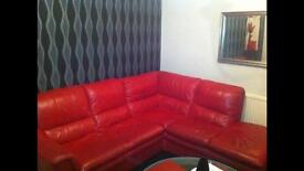 One bedroom first floor flat furnished