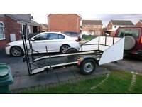 Car trailer (car transporter)