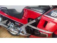 KAWASAKI GPZ 600R Dohc16 valve clasic racer