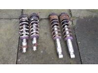 FOR SALE KW RACING ADJUSTABLE COILOVERS TO FIT HONDA INTEGRA DC2 CIVIC CRX LOOK CHEAP BARGAIN