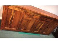 Sideboard solid hardwood