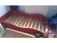 Kids Car Shaped Single Bed
